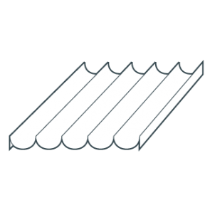 Bandeja Aluminio Perforada Acanalada